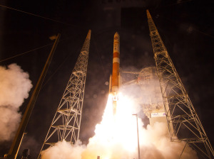 Delta 4 WGS launch
