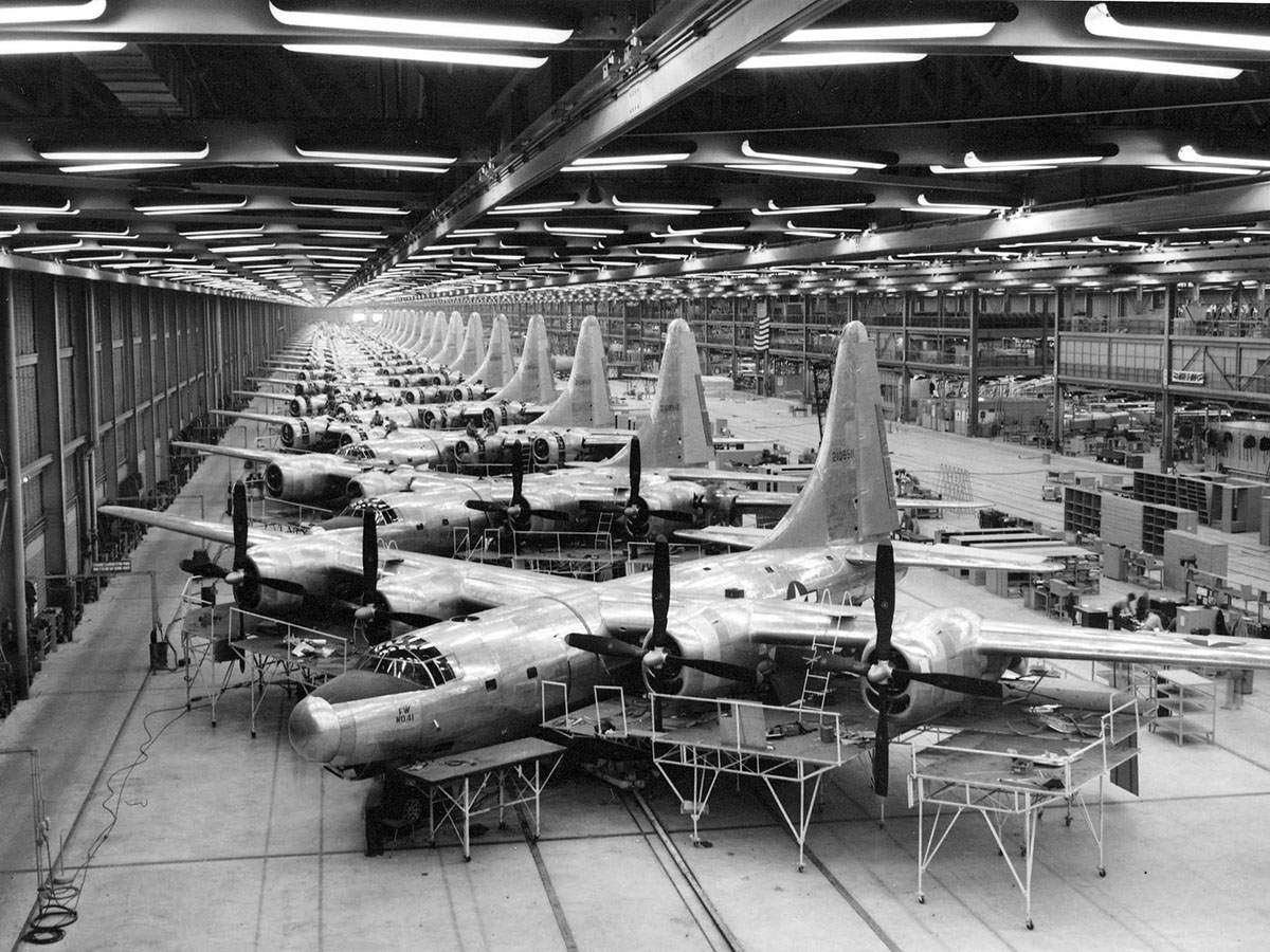 Commentary End Of Wwii Model Shakes Up Aerospace