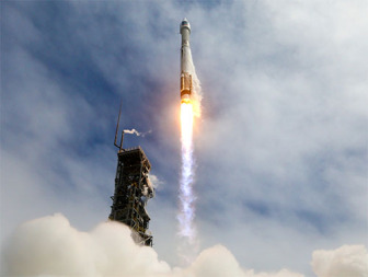 ULA Atlas 5 launches DigitalGlobe WorldView 3 satellite. Credit: ULA