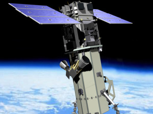 World View 3 satellite. Credit: DigitalGlobe