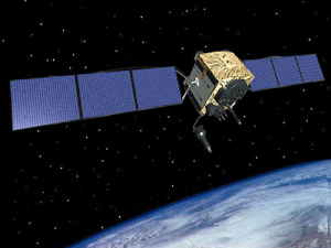 A software and security update by Lockheed Martin will improve the U.S. Air Force's GPS ground station used to communicate with the GPS 2F satellites, pictured above.