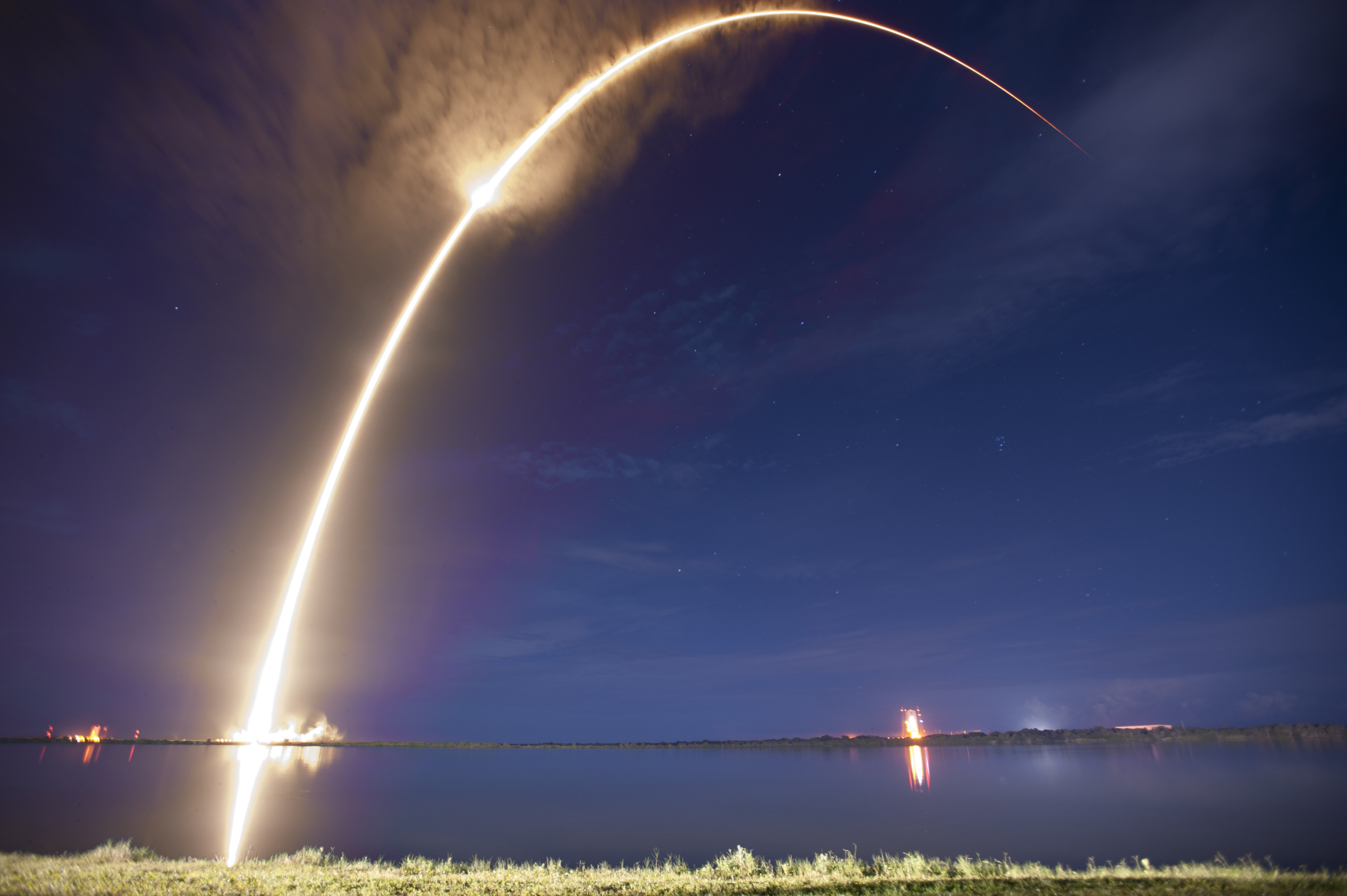 Spacex Launches Asiasat 6 A Month After Lofting Asiasat 8