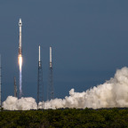 Boeing has handed over the eighth satellite in the GPS 2F series of satellites to the U.S. Air Force. Credit: United Launch Alliance /John Studwell.