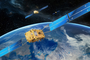 Galileo FOC sats. Credit: OHB