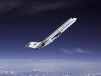 NASA's DC-9 parabolic flight airplane