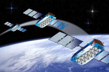 O3b satellites. Credit: Thales Alenia Space