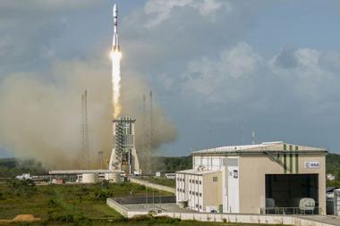 Dec. 18 Ariane 5 launch of four O3b satellites. Credit: Arianespace