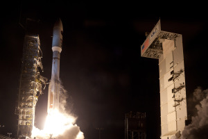 Launch of NROL-35 from Vandenberg Air Force Base, California. Credit: ULA