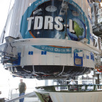 TDRS-L undergoing preparations for launch. Credit: NASA