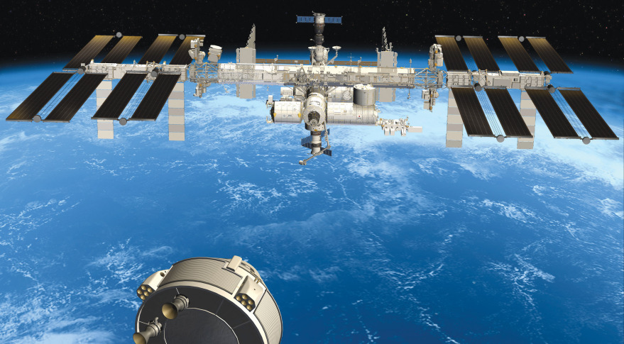 Boeing hopes to use a variant of its CST-100 crew capsule to deliver cargo to the International Space Station for NASA. Credit: Boeing