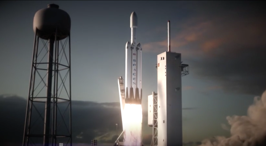 spacex falcon heavy concept art credit spacex