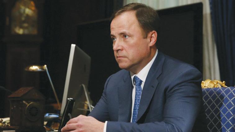 Igor Komarov. Credit: Yekaterina Shtukina/TASS photo