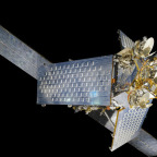 Iridium satellite. Credit: National Air and Space Museum