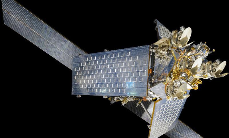 Iridium satellite. Credit: National Air and Space Museum
