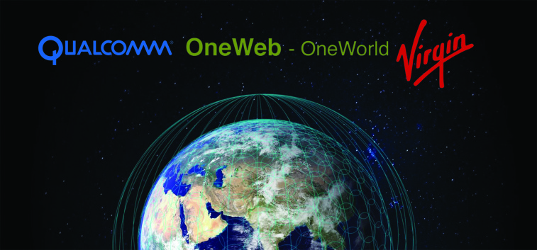 OneWeb Jan 15 that it has backing from Qualcomm and Virgin  to build a 650-satellite constellation to provide global Internet access. Credit: OneWeb Ltd./SpaceNews