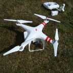 The quadcopter  that landed on the White House South Lawn Jan. 26, 2015,  was similar to this commercially available radio-controlled drone. Credit: Wikipedia