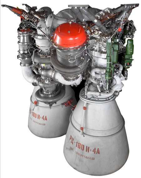 RD-180 engine. Credit: NPO Energomash
