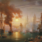 Russian Black Sea Fleet after the battle of Sinope, 1853. Credit: Via Wikipedia