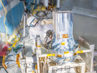 NASA's Earth Science Division plans to launch the Stratospheric Aerosol and Gas Experiment (SAGE)-3 mission in 2016. SAGE-3 will measure aerosols, ozone, water vapor and other gases to help scientists better understand Earth's atmosphere. Credit: NASA Langley/Sean Smith