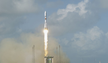 Dec. 18 Soyuz launch  of four satellites for O3b Networks' Ka-band Internet trunking service. Credit: Arianespace