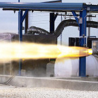A Dec. 2013 static-fire test of SpaceX's SuperDraco rocket engine. Credit: SpaceX