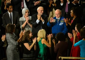 Scott Kelly at SOTU