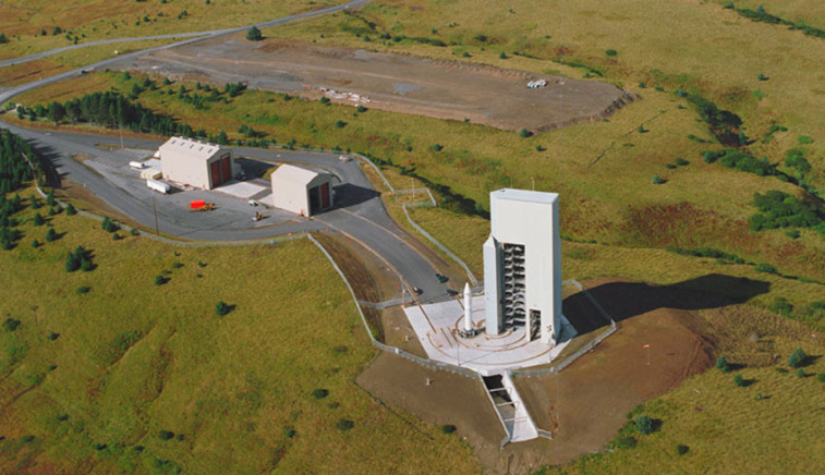 An aerial view of Alaska's Kodiak Launch Complex. Credit: Alaska Aerospace Corp.
