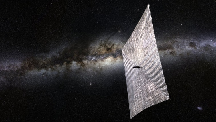 Illustration of The Planetary Society's LightSail spacecraft, designed to test solar sail technology. Credit: The Planetary Society