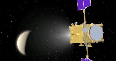 Akatsuki will get a second shot at orbiting Venus come December. Credit: JAXA video grab