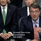 Ashton Carter. Credit: Senate Armed Services Committee video capture