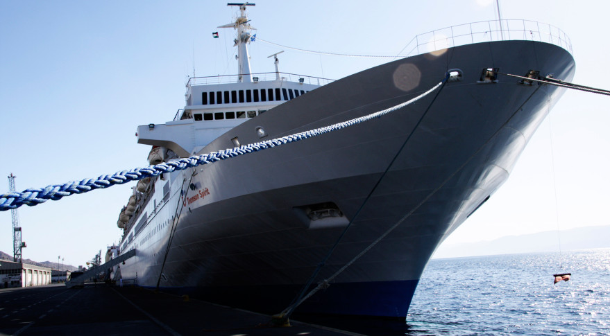 Cruiseship at port