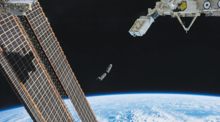 NanoRacks deployment of small sats from ISS
