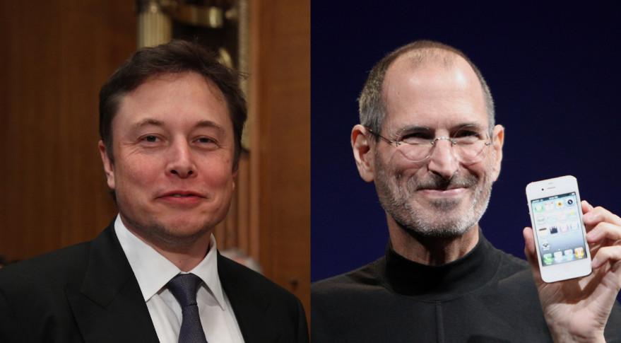 Elon Musk and Steve Jobs