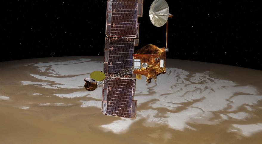 Mars Odyssey. Credit: NASA