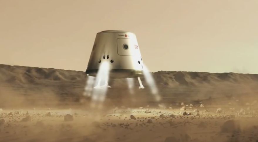 News of the terminated contract comes as Mars One is facing heightened skepticism about its plan to send humans to Mars in the mid-2020s. Credit: Mars One video screen grab