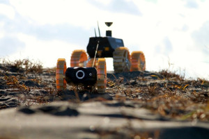 Japan's Team Hakuto rover entries for the Google Lunar X Prize, Moonraker and Tetris. Credit: Team Hakuto
