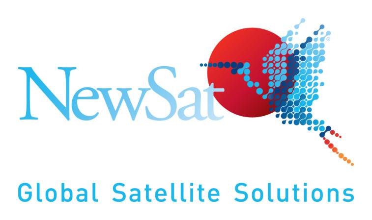 NewSat logo