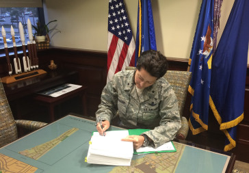 U.S. Air Force Brig. Gen. Nina Armagno. Credit: U.S. Air Force/Patrick Air Force Base