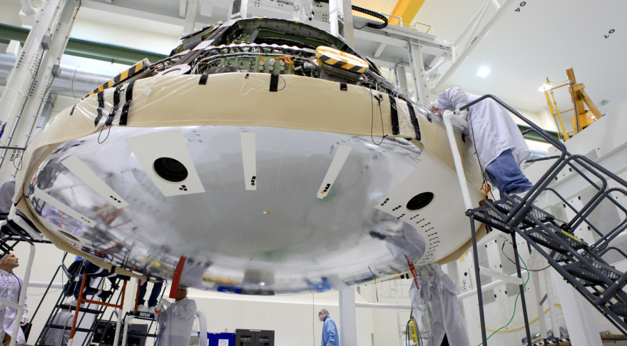 Orion heat shield