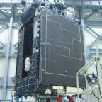 JAXA's Quasi-Zenith satellite. Credit: JAXA/Mitsubishi Electric Co.