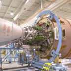 RD-180 engine mounted on Atlas 5 rocket. Credit: ULA