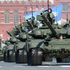 Russian T-90 tanks