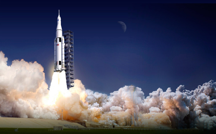 NASA is seeking $1.1 billion for Orion, a decrease of nearly $100 million from the $1.19 billion appropriated for 2015. SLS would lose even more, from $1.7 billion in 2015 to $1.36 billion in the 2016 request. Credit: NASA