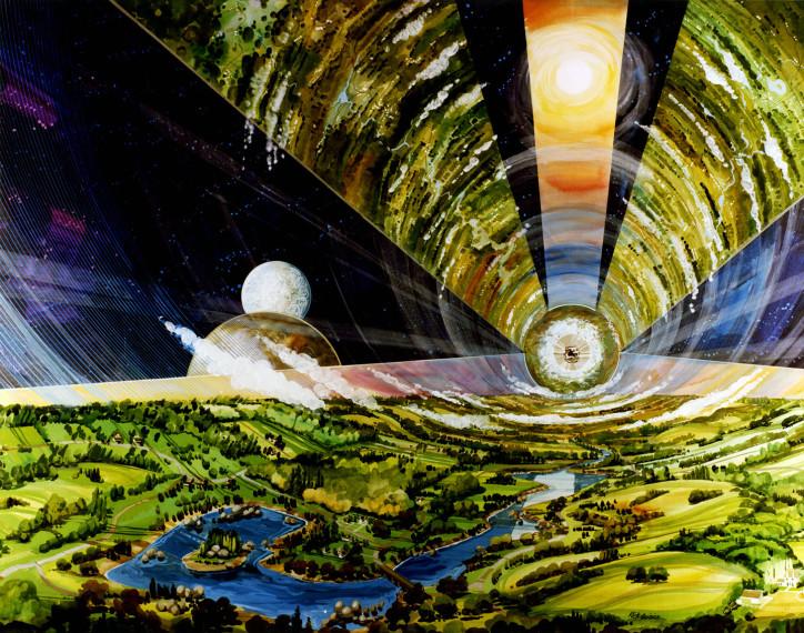 Space settlement