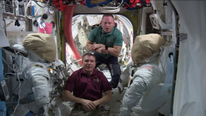 Expedition 42 ISS talk