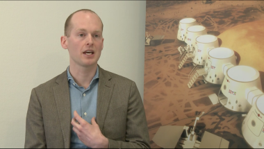 Mars One CEO Bas Lansdorp. Credit: Mars One video via YouTube.