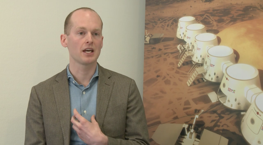 Mars One CEO Bas Lansdorp. Credit Mars One video via YouTube