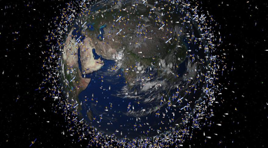 Debris in low Earth orbit