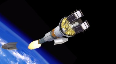 The 7th and 8th Galileo satellites were released from the four-stage Soyuz-Fregat rocket  into a circular orbit of about 23,522 kilometers in altitude. Credit: ESA