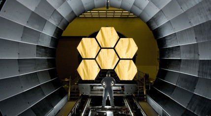 JWST mirror segments. Credit: NASA